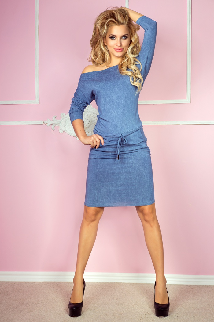 Sportovní šaty, modrá, L