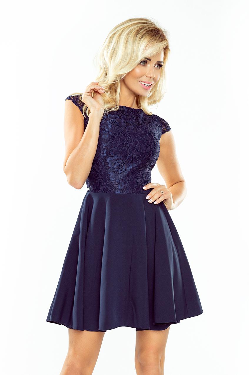 Dámské šaty s krajkou