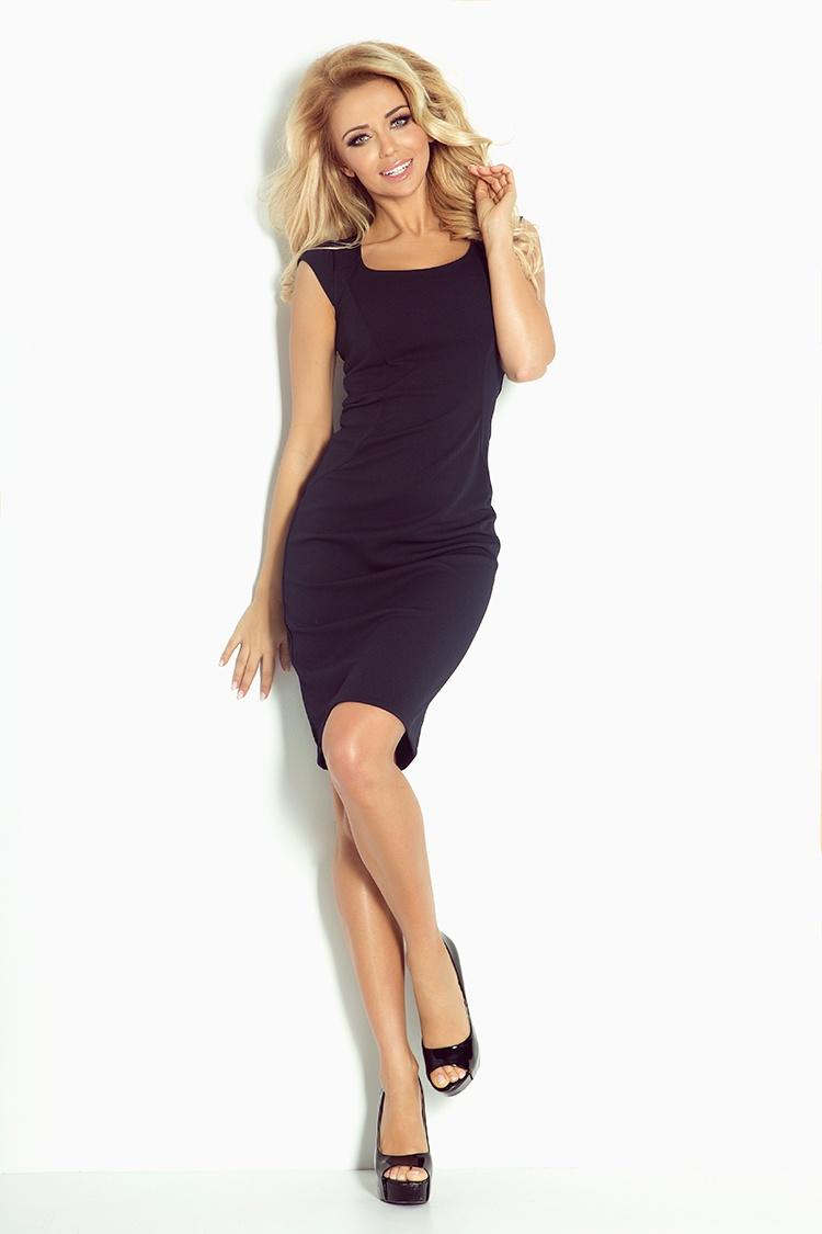 Elegantní šaty, navy, L