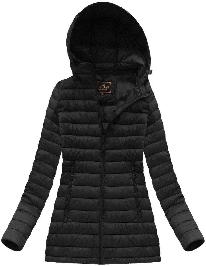 Černá dámská přechodová bunda