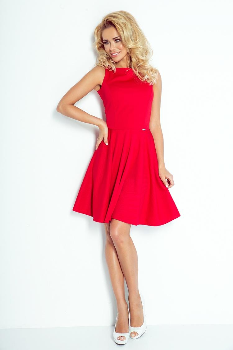Dámské šaty s volnou sukní, více barev