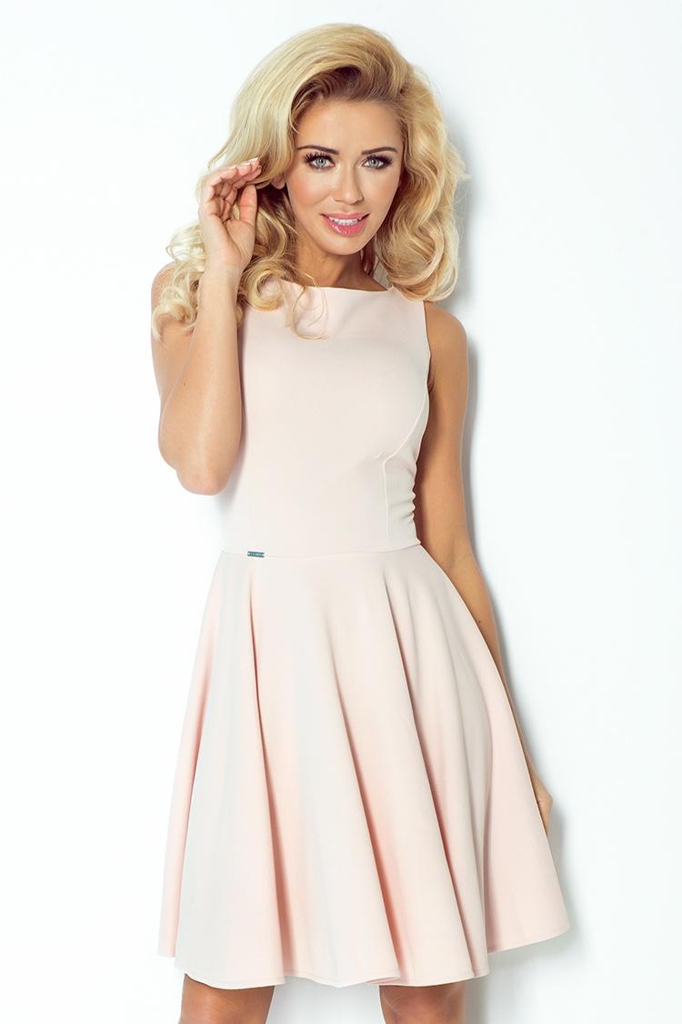 Úchvatné šaty s kolovou sukní - S+ M