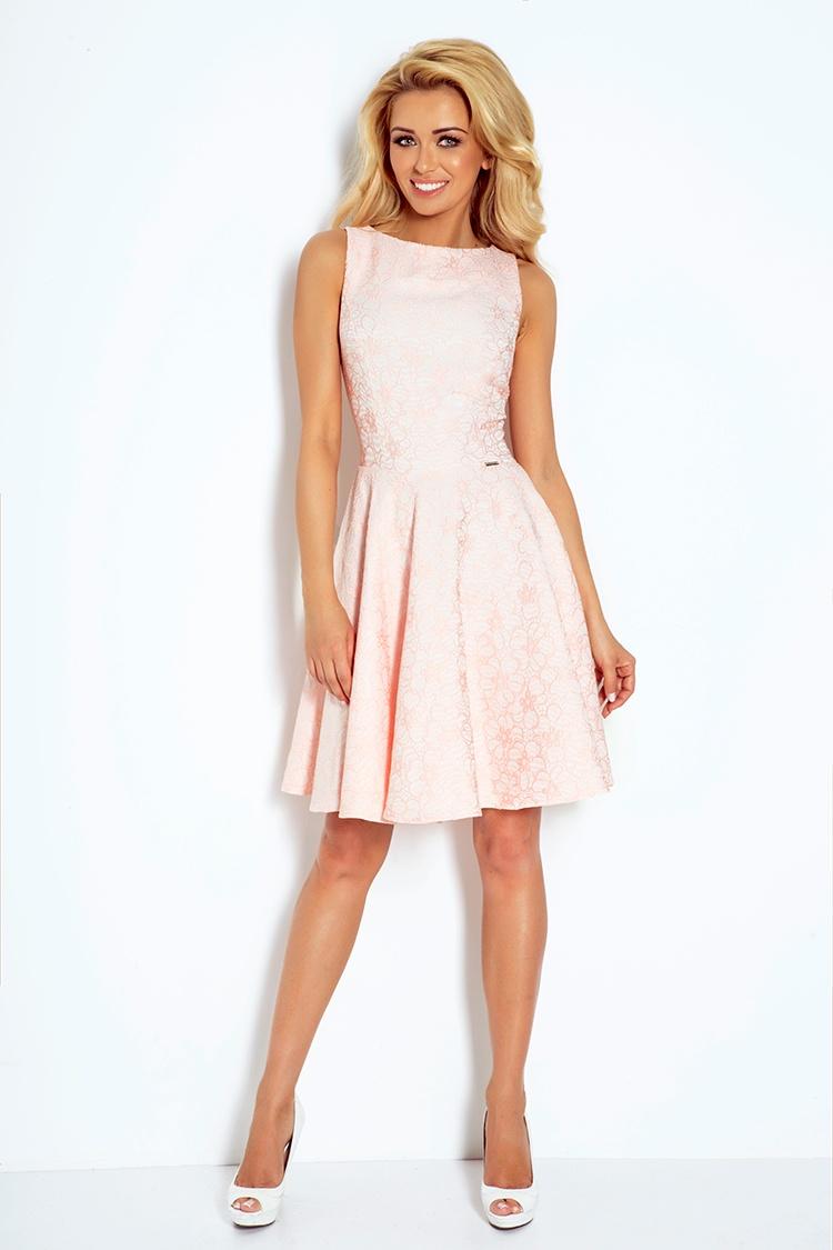 Úchvatné šaty s kolovou sukní - XS+ S