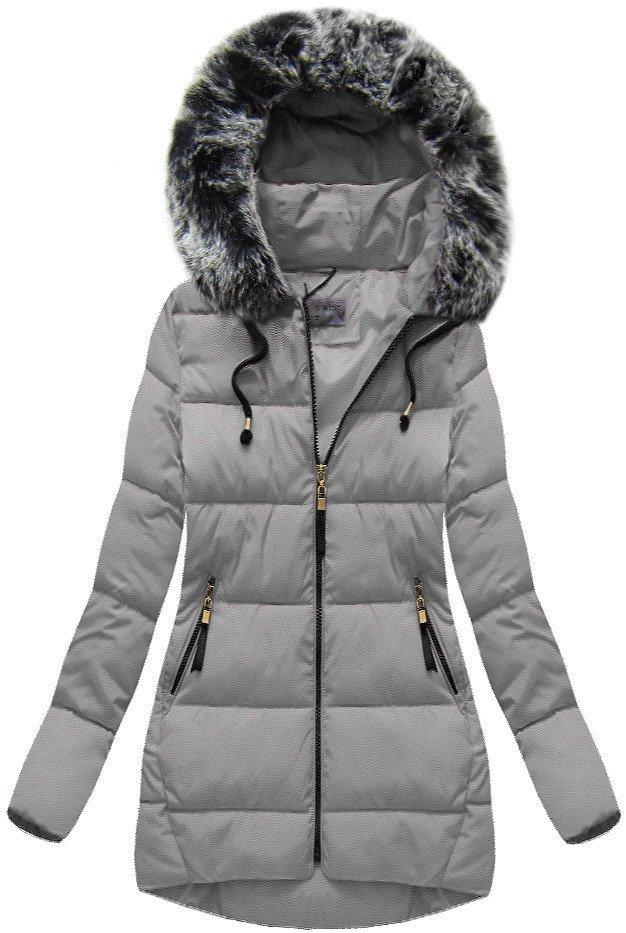 Zimní bunda s kapucí b1027