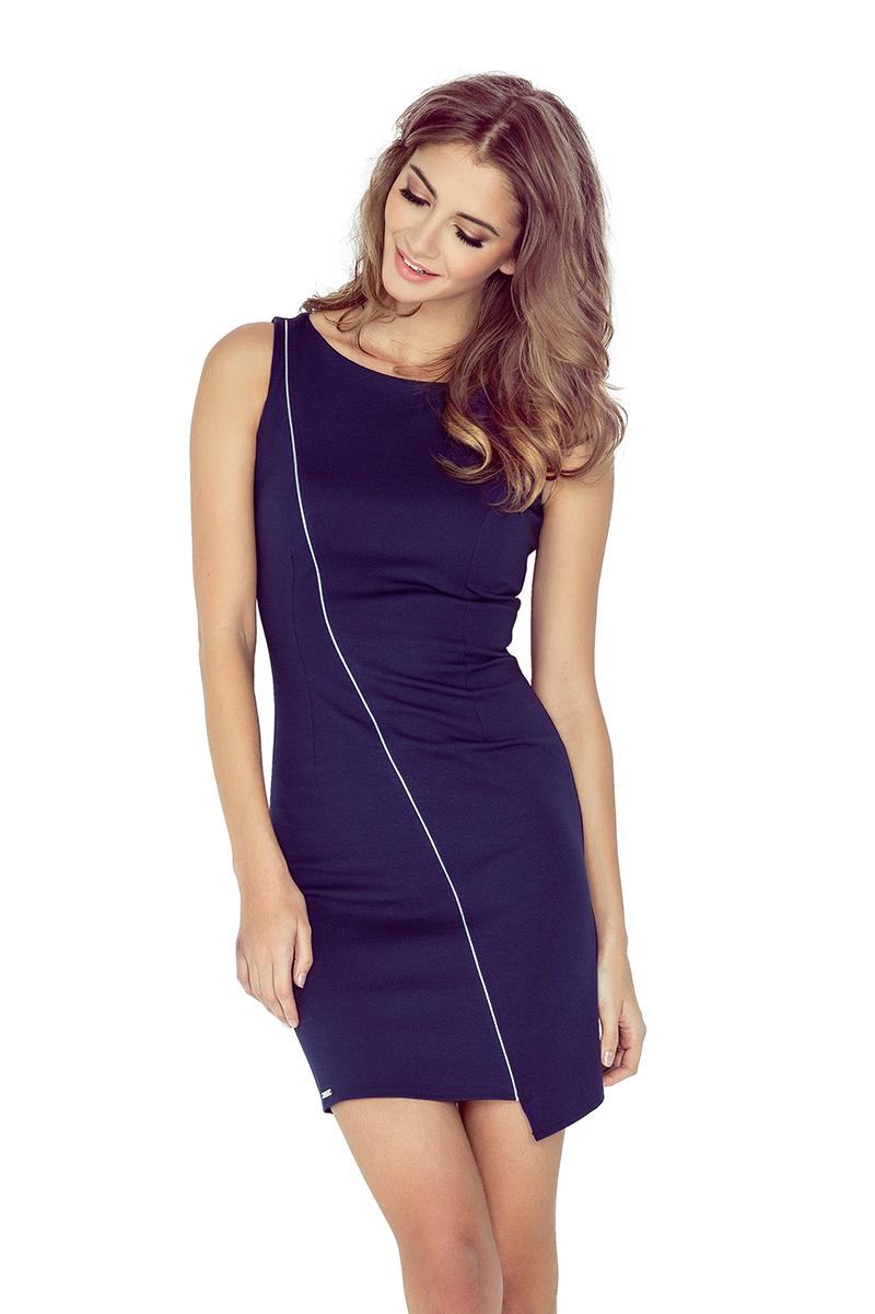 Asymetrické dámské šaty