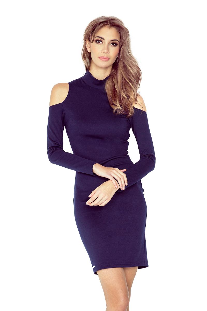 Dámské šaty s holými rameny