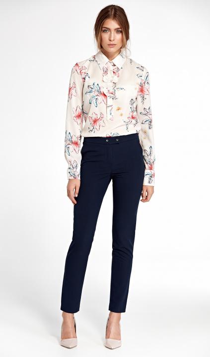 Elegatní kalhoty SD32 - dvě barvy, navy, M