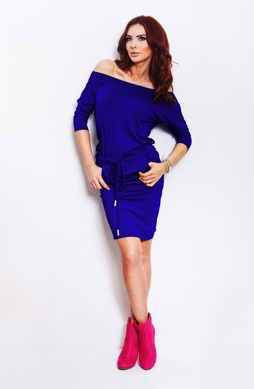 Sportovní šaty, modrá, M