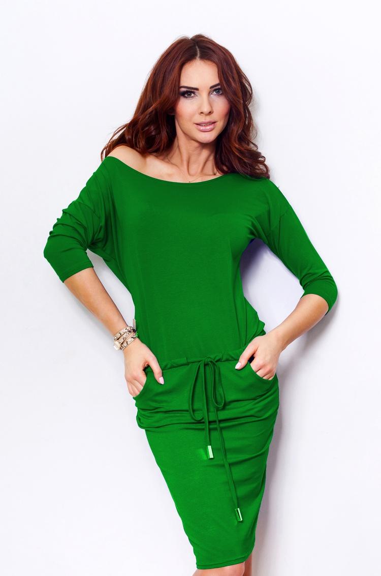 Sportovní šaty, zelená, S