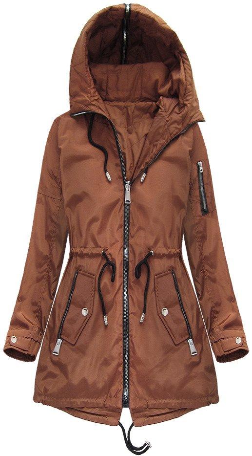 Oboustranná bunda s kapucí
